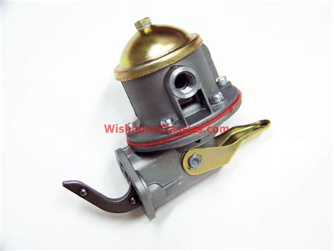 Fuel Pump, OE style w/ Priming Lever - GT6, TR250, TR6