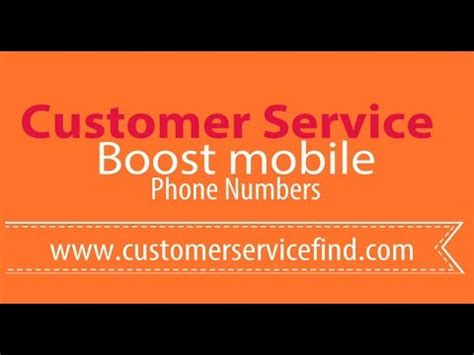 Boost mobile Customer Service Phone Number - YouTube