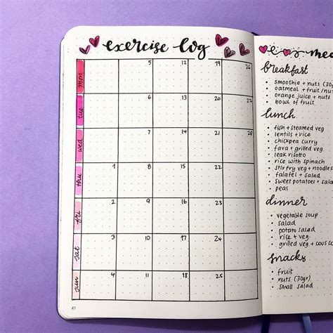 Bullet Journal Ideas: 25+ Things To Include In your Bullet