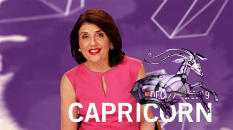Watch Glamourscopes with Susan Miller | Capricorn