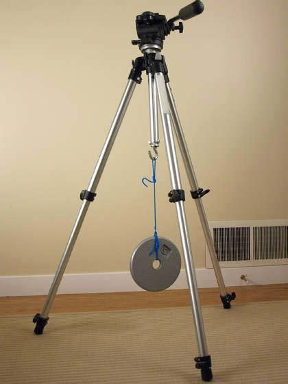Give Your Tripod Some Extra Stability By Adding a Weight Hook