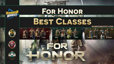 For Honor Tier List Best Character Classes | Best Heroes
