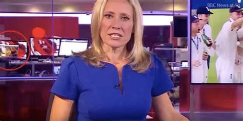 BBC Accidentally Airs Employee Watching Naughty Film