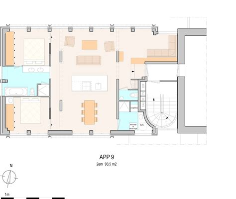 Appartement 90 m2 - scoooter gt