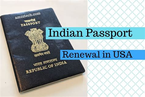 Renew Indian Passport in USA - CKGS Process • USA