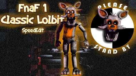 [FnaF/SpeedEdit] FnaF 1 Classic Lolbit - YouTube