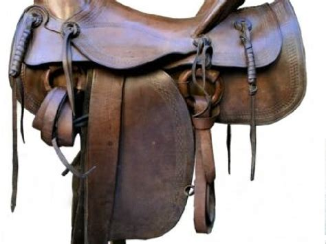 Selle Américaine vers 1900 | Selle-Cheval-Occasion