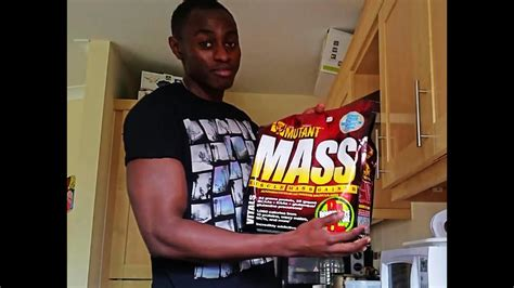 """How to use Mutant Mass """"weight gainer"""" - YouTube"""