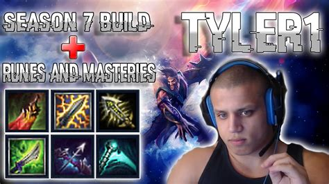 NEW TYLER 1 BUILD + RUNES AND MASTERIES   BEST DRAVEN