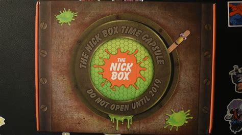 The Nick Box Review & Unboxing - Spring 2019 - Time Capsule