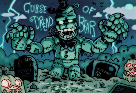 The curse of dread bear | Fnaf, Crazy fans, Drawings