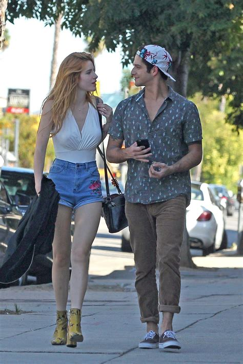 BELLA THORNE Out for Lunch at Sweet Butter in Sherman Oaks