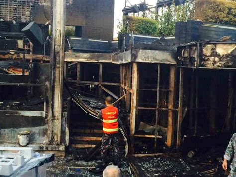 Beirut's Skybar Burns Down; Lebanon To Announce A Day Of