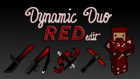 Texture Pack - Dynamic Duo RED Edit | FunnyDog
