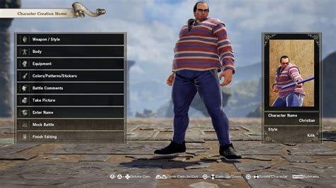 Chris-chan | SoulCalibur VI Custom Characters | Know Your Meme
