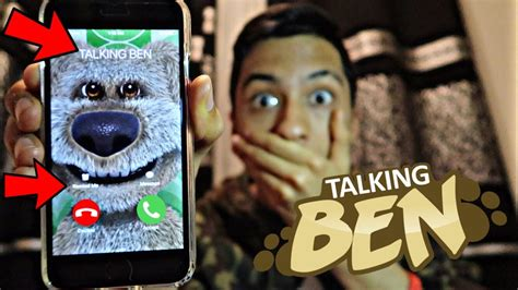 TALKING BEN CALLED ME AND I *ANSWERED OMG* - YouTube