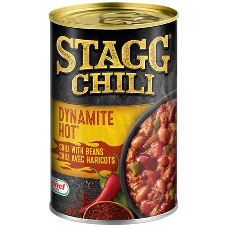 Stagg Chili Dynamite Hot Canned Chili with Beans   Walmart
