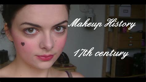 Makeup History: 17th century - YouTube