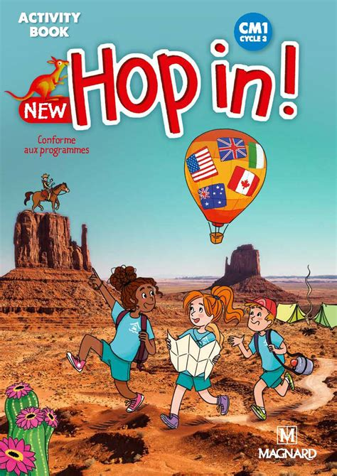New Hop In! CM1 (2019) - Activity Book | Magnard Enseignants