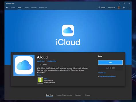 iCloud for Windows app with OneDrive Files On-Demand now