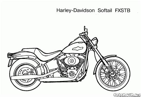 Coloring page - Motorcycles