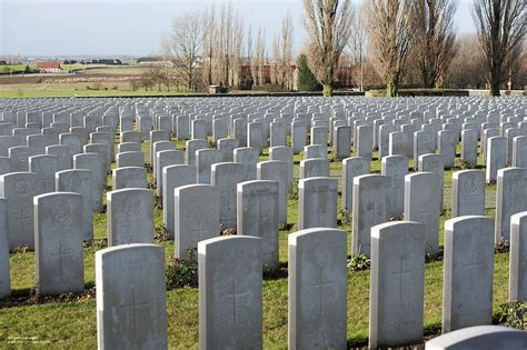 War Graves at Tyne Cot Cemetary, Belgium | Thousands of