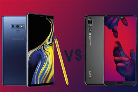 Samsung Galaxy Note 9 vs Huawei P20 Pro: What's the
