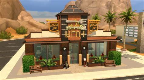 The Sims 4 Dine Out Gallery Spotlight: Restaurants