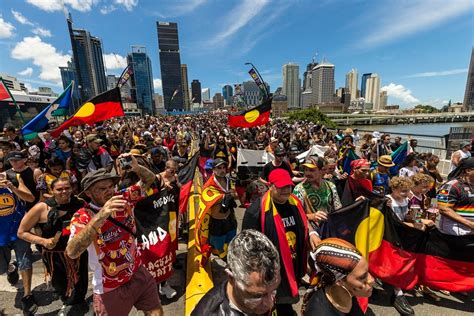 'Australia Day of shame': Thousands march in 'Invasion Day