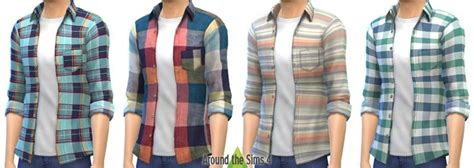 Around the Sims 4   Custom Content Download   Clothing