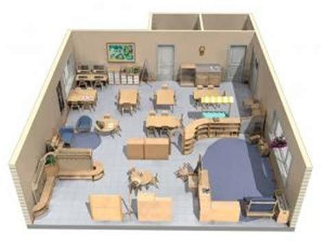 Montessori Classroom Space Idea for set up with Wooden #
