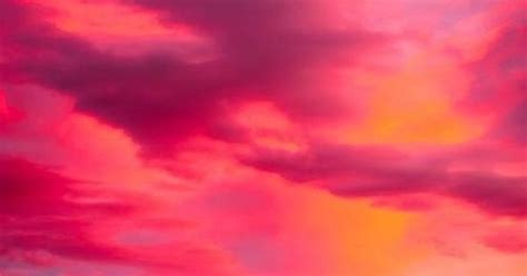 Pink and orange sky, my most favorite color combo in