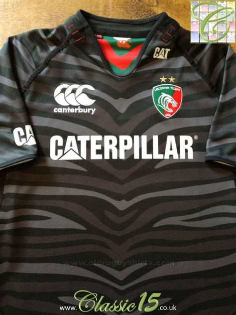 Leicester Tigers Alternative/Away Rugby Shirt 2012 - 2013