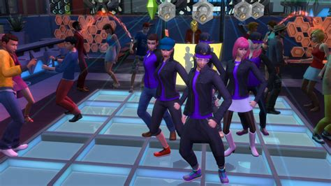 The Sims 4 Get Together: Dance Club Screenshot