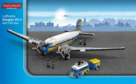 Lufthansa Douglas DC-3 | Based on the one by MrSsorg with