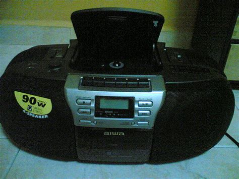 Aiwa 3 function CD Tape Radio portable player FOR SALE in