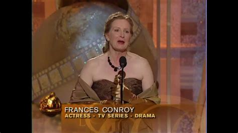 Frances Conroy Wins Best Actress TV Series Drama - Golden