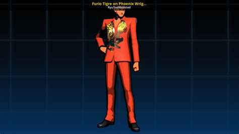 Furio Tigre on Phoenix Wright (Viola on Maya) [Ultimate